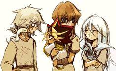 Aun siendo pequeños, el destino de lo que seremos esta sellado   ~ Bakura // Seto // Atem // Kisara ~