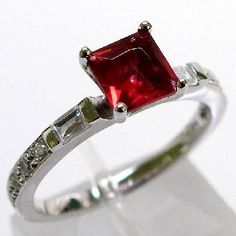 $29.99 1 carat Ruby ring size 9