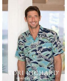 Tori Richard Men's Shirt Poseidon, found on Shop Polynesia. Cool Shirts For Men, High End Brands, Men's Shirts, Cool Designs, Men Casual, Cool Stuff, Fabric, Mens Tops, Shopping