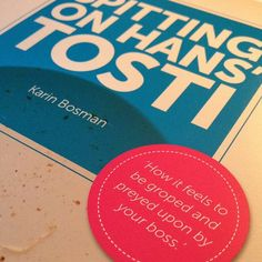 Would you tell? Karin Bosman spills on sexual harassment & Spitting on Hans' Tosti {Guest Post + #Giveaway - INT}  / guiltless reading
