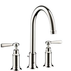 Axor Montreux Widespread Faucet with Lever Handles, 1.2 GPM