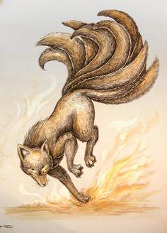 nine tailed fox   RO - Nine Tail Fox by *SilentReaper on deviantART