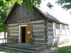 Pioneer Log Village in Bad Axe, MI  Open from 2-4pm between Memorial Day and Labor Day.