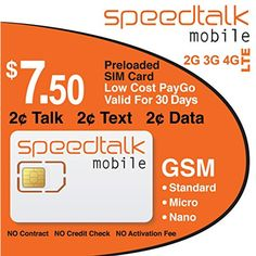 1 Year Prepaid GSM SIM Card For Unlocked Cell Phones - Talk and Text LTE Data -- You can get more details by clicking on the image. (This is an affiliate link) T Mobile Phones, Mobile T, Best Mobile Phone, Best Cell Phone, Cell Phones In School, Newest Cell Phones, Electronics Sale, Compare Phones, Prepaid Phones
