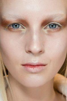 #beauty #makeup @ Alexander McQueen Fall 2014
