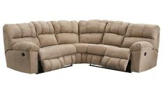 Slumberland Furniture - Palmer Collection - Taupe Sectional - Slumberland Furniture Stores and Mattress Stores