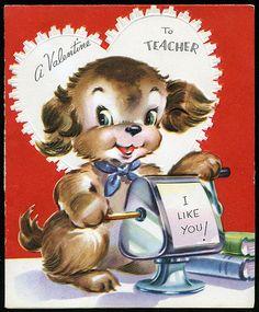 A Valentine to Teacher I Like You