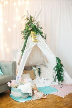 A Magical First Birthday Party | theglitterguide.com