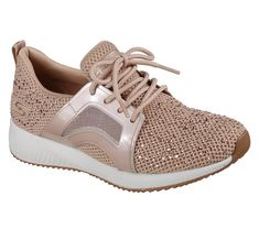 f6c6e9eda91cf Add some glittering fun style to your look in comfort with the SKECHERS Bobs  Sport Squad