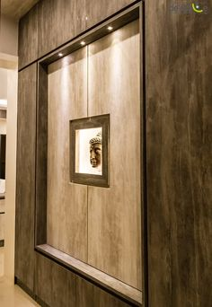 We like the center focus and the buddha. But preferably not the full cover foyer. Credenza, Armoire, Foyer Ideas, Cabinet, Storage, Buddha, Furniture, Cover, Home Decor