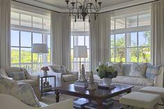 curtains, porch ceiling, natual light  Urban Grace Interiors