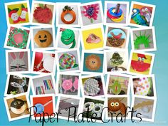 Lots of Paper Plate Craft Ideas