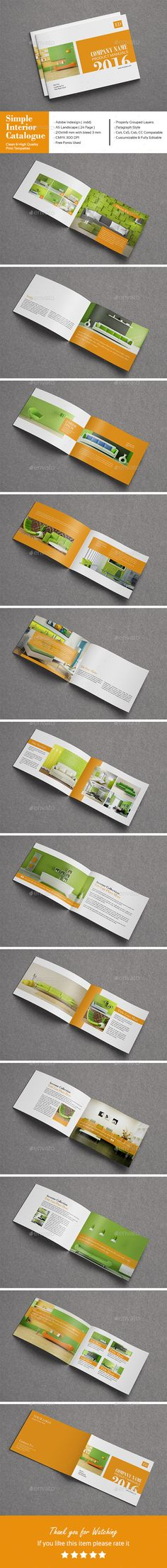 Minimal Architecture Brochure Templates  Minimal Architecture