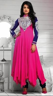 Sonal Chauhan Georgette Anarkali Suit