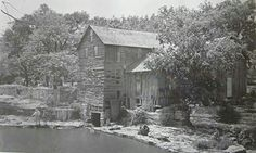 1930 photo of Watts Mill at what is now 103rd and State Line Rd / was on Mo side. Kansas City, Mo.