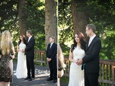 Chris & Amanda Log Haven Wedding » Elizabeth Curtis Media