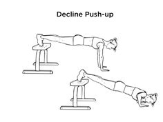 Decline Push-Up Exercise For Chest