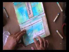'Imagination'... art journaling - YouTube