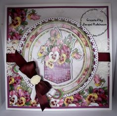 Dragons Lair Designs Pansy kit dt project