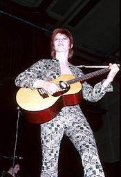 David Bowie during the Ziggy Stardust Tour David Bowie, Spiders From Mars, Blitz Kids, Mick Ronson, Legendary Singers, Song List, Ziggy Stardust, Miles Davis, Glam Rock