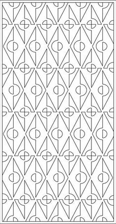 Design Library   Tableaux® Decorative Grilles for Residential Design Adult Coloring Book Pages, Coloring Pages, Colouring, Pattern Art, Pattern Design, Art Patterns, Embroidery Patterns, Cnc Cutting Design, Mandala Doodle