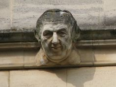 Oxford Gargoyles, based on faces of real builders of the college
