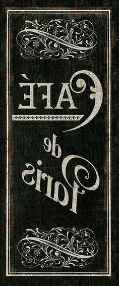 Brocante Brie, spiegelbeeld print