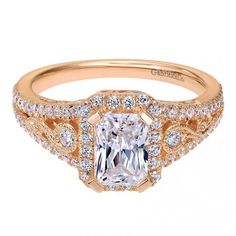 #Gabrielco #Engagement #Ring #Rosegold