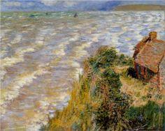 Rising Tide at Pourville - Claude Monet