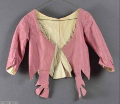 MoMu - Fashion Museum Casaquin 1785-1790 T05/61