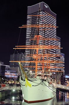 Yokohama night time, Yokohama, Japan  Copyright: Takero Kawabata