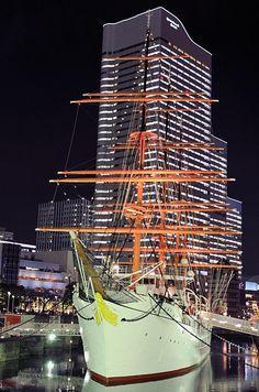 Yokohama night time, Yokohama, Japan  Copyright: Takero Kawabata