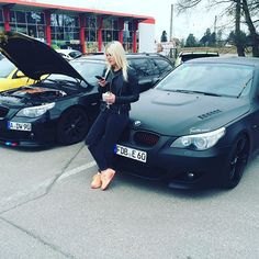 #BMW#E60#Beste#Frau#tuning#treffen#Edition1#Cars#Black#beast#Stance#sports#mind#powered#by#performance#schmiedmann#Sandra❤️
