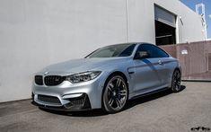 Frozen Silver BMW M4 Gets Modded - http://www.bmwblog.com/2016/02/25/frozen-silver-bmw-m4-gets-modded/
