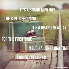 ♪Lyrics - It's a brand new day by Joshua Radin ♪