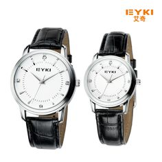 >> Click to Buy << 2017 Rushed New Fashion Brand Eyki Mens Watch Casual Leather Strap Analog Quartz Watches Men Dress Wristwatches Reloj Mujer  #Affiliate