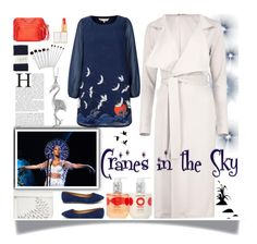 """""""Inspired By: Solange Cranes In The Sky #5"""" by tailormadelady ❤ liked on Polyvore featuring Reeds Jewelers, Boohoo, Coach, Steve Madden, Nancy Gonzalez, Yumi, Liliana, Diane Von Furstenberg, Jonathan Adler and Toast"""