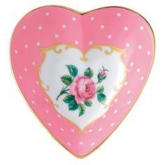 Royal Albert - Cheeky Pink Heart Trinket Tray