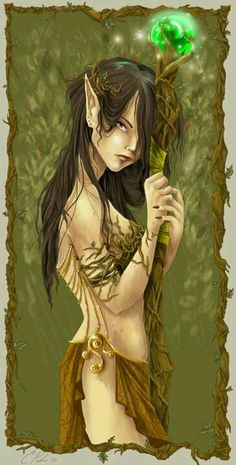 The Nymph of the Enchanted Wood