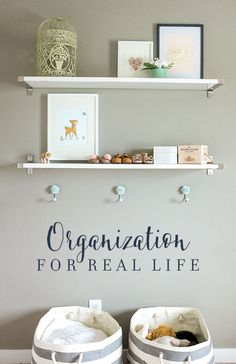 Get organized with the Get Organized Challenge that will take you through 4 major areas of your home with tips and projects for how to organize beautifully to fit your family's needs. Clutter Organization, Organization Ideas, Organizing, Kid Spaces, Program Design, Getting Organized, Room Inspiration, Kids Room, Challenges