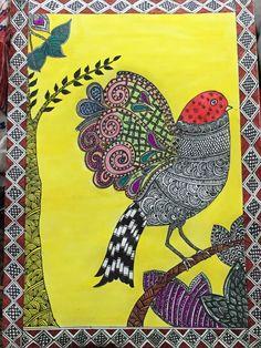 Bird with designs!!!