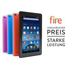 Fire: Unglaublicher Preis. Starke Leistung. Leistungsstarkes Tablet, Familien Tablet und Entertainment Tablet - Amazon.de
