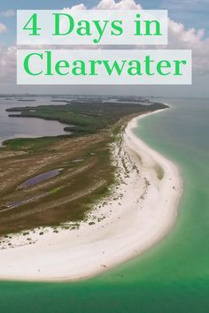 With this 4 day itinerary of Clearwater and St Petersburg, you will be taking a sunset cruise with free booze, taking the sun in with sand beaches, visiting a daily festival, exploring an island with uncrowded beaches and more. Beach Vacation Tips, Florida Vacation, Florida Travel, Alabama Vacation, Vacation Ideas, Clearwater Beach Florida, Tampa Florida, Florida Beaches, Tarpon Springs Florida