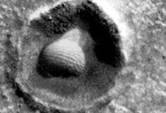 Dome on Mars Aliens And Ufos, Ancient Aliens, Mars Surface, Asteroid Belt, Guitar Scales, Flat Earth, Weird World, Outer Space, Nasa