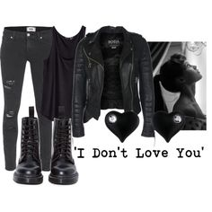"""""""'I Don't Love You'"""" by izzy-the-demigod on Polyvore"""