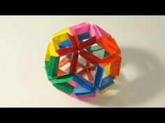 Origami Flexiball (Jorge Pardo) - YouTube