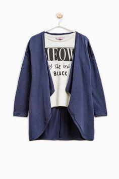 Completo cotone cardigan e t-shirt | OVS