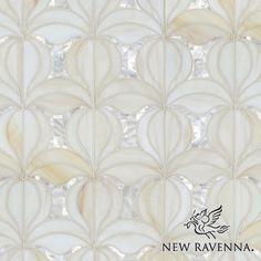Calla Jewel Glass Mosaic | New Ravenna Mosaics I may have a new favorite