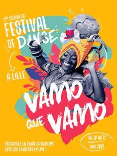 Affiche pour festival de danse on Behance Design Logo, Graphic Design Layouts, Graphic Design Posters, Layout Design, Print Design, Design Art, Web Design, Event Poster Design, Creative Poster Design
