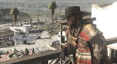 Red Dead Redemption, my fav game 100%, nice poncho